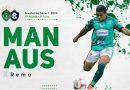 Manaus FC lança ingresso virtual para partida contra o Remo