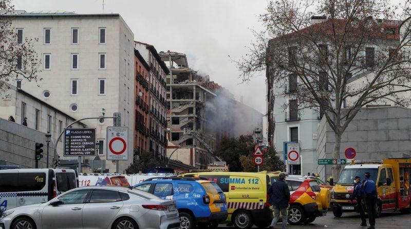 Explosão atinge prédio no centro de Madri e deixa ao menos 2 mortos
