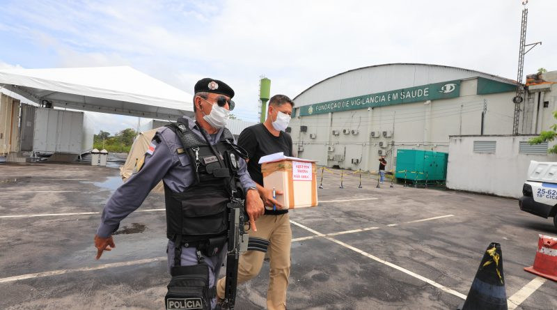 Municípios do Amazonas voltam a receber as doses da Astrazeneca
